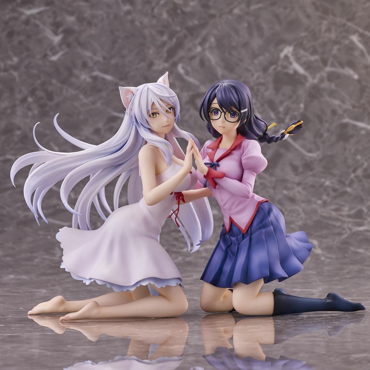 Tsubasa Hanekawa Nekomonogatari Figure Set