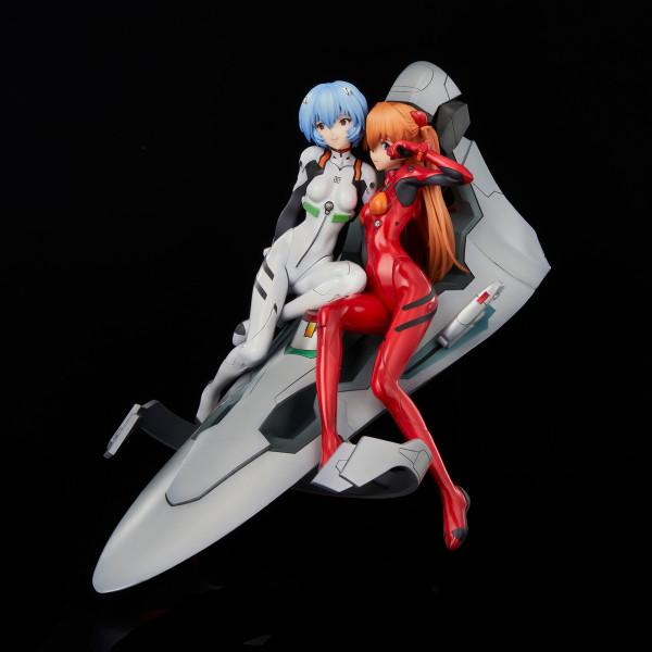 Rei & Asuka Twinmore Object Neon Genesis Evangelion Figure Set