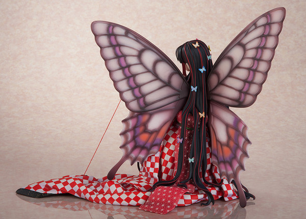 Hoteri Red Butterfly Figure