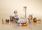 Gwendolyn Maury's Catering Service Ver Odin Sphere Leifthrasir Figure Set