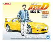 FD3S RX-7 Takahashi Keisuke Initial D 1/32 Model Kit