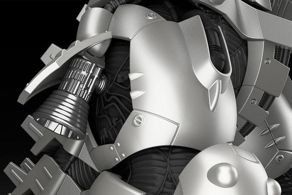 Kiryu (Re-run) MechaGodzilla Model Kit