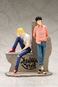 Ash Lynx and Eiji Okumura Banana Fish Artfx J Figure