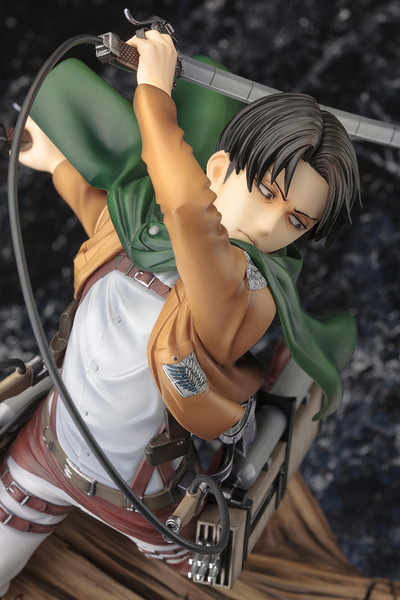 Levi Renewal Package Ver Attack on Titan ARTFX J Figure