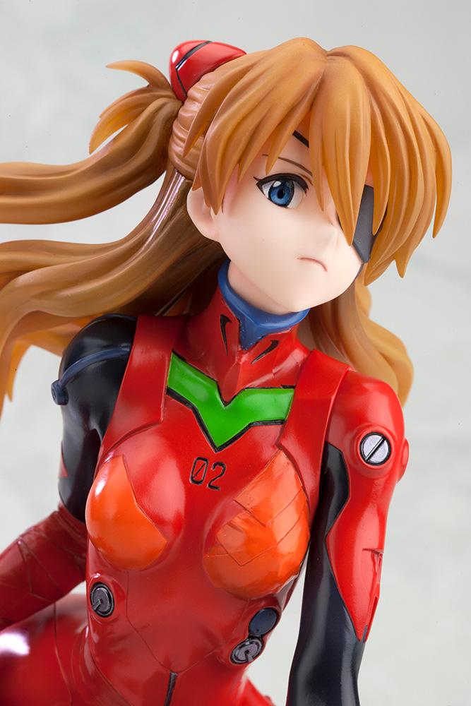 Asuka Shikinami Langley Evangelion Q Plug Suit Ver Ani Statue Figure