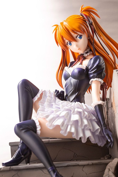 Asuka Langley Gothic Lolita Costume Ver Evangelion Figure