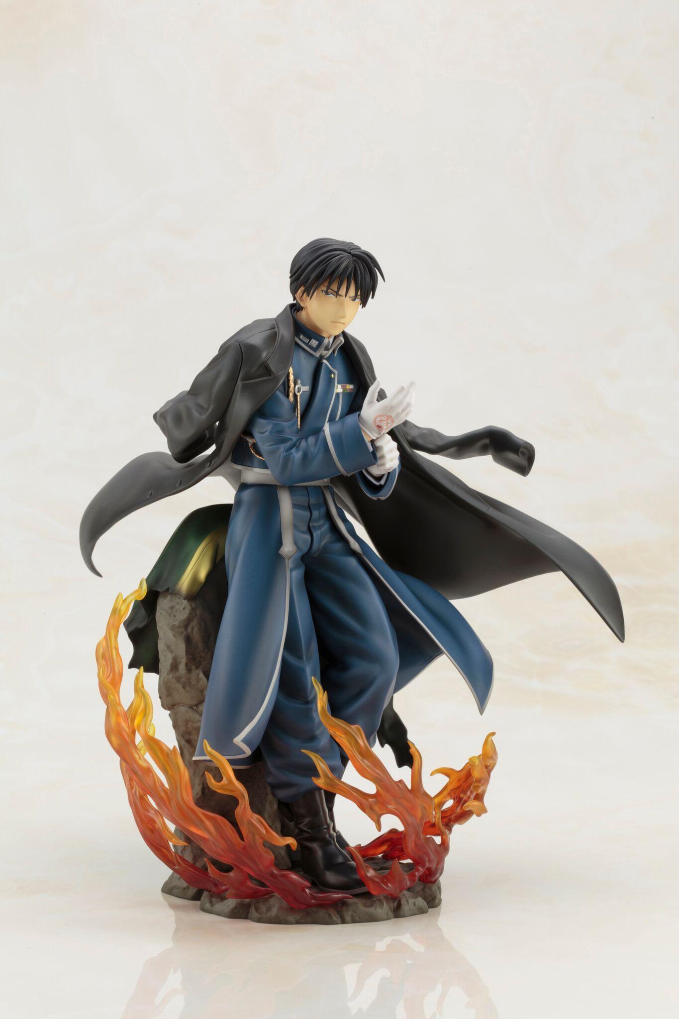 Roy Mustang Fullmetal Alchemist Brotherhood Figure