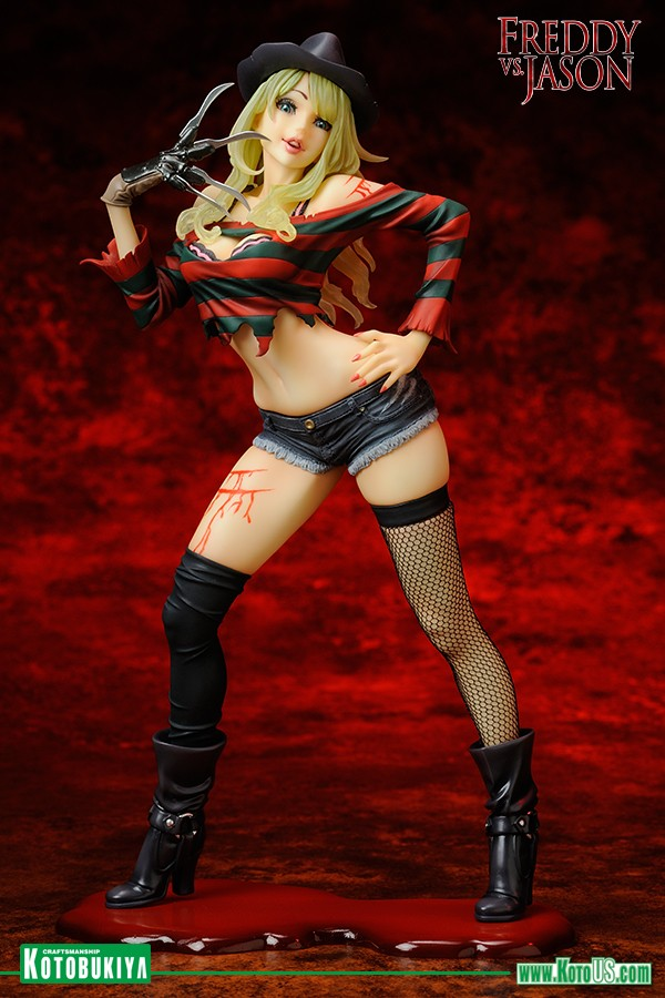 Freddy Krueger 2nd Edition Freddy Vs Jason Bishoujo Figure 4934054903603