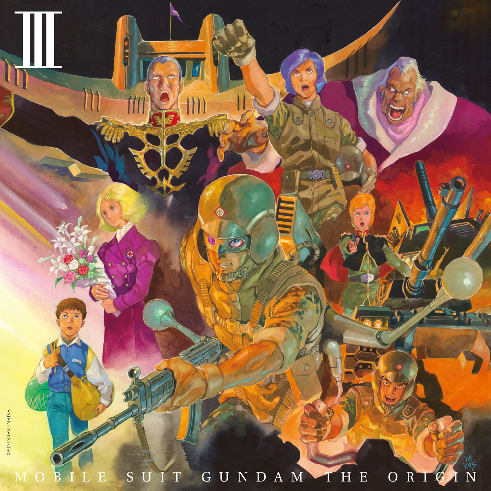 Mobile Suit Gundam The Origin Collector's Edition Blu-ray 3