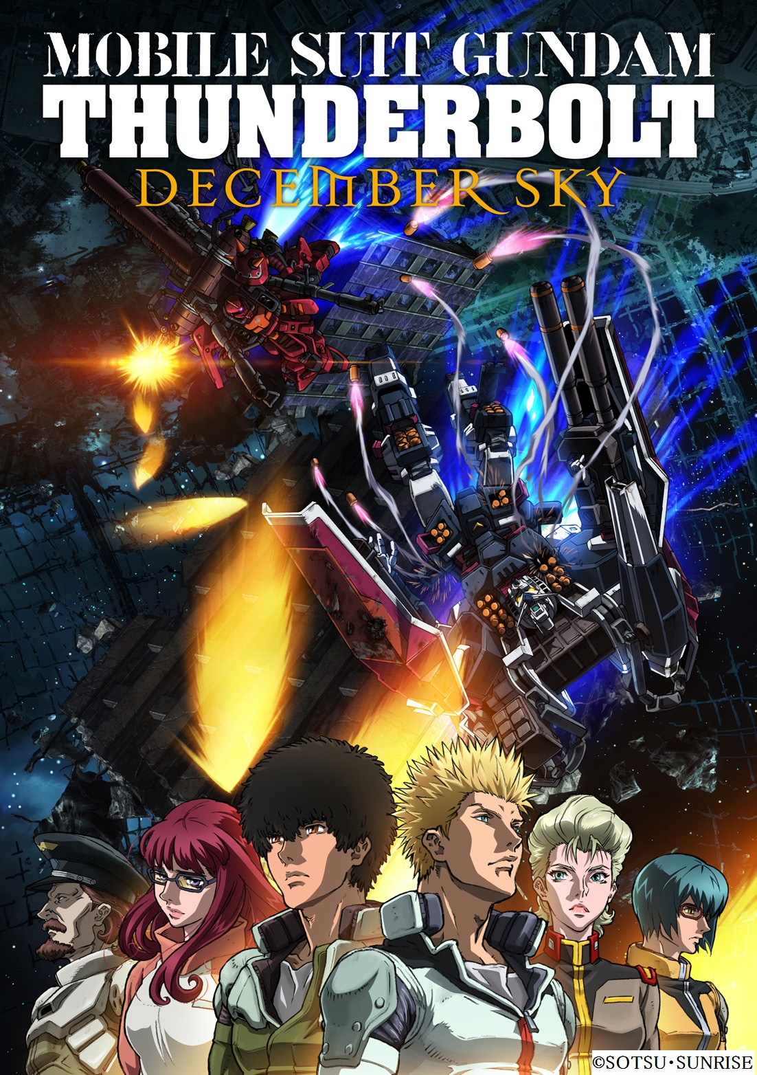 Mobile Suit Gundam Thunderbolt Limited Edition Blu-ray (Import) 4934569906939