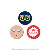 One-Punch Man 3-Tin Button Set