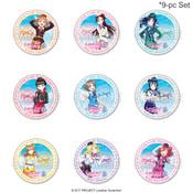Love Live! Sunshine!! Uranohoshi Girls' High School Store INTERNATIONAL Tin Button Vol. 7 (Set)