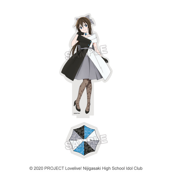 Love Live! Nijigasaki High School Idol Club Shizuku Osaka Deka Acrylic Stand