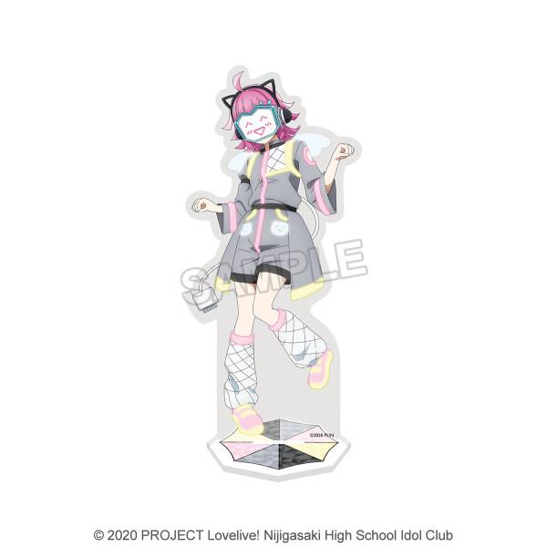 Love Live! Nijigasaki High School Idol Club Rina Tennoji Deka Acrylic Stand