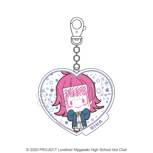 Love Live! Nijigasaki High School Idol Club Rina Tennoji Acrylic Keychain