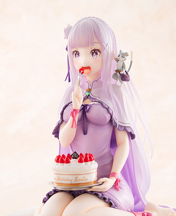 Emilia Birthday Cake Ver Re:ZERO Figure