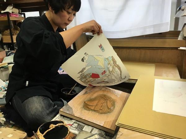 Rem (Re-run) Re:ZERO Starting Life in Another World Ukiyo-e Woodblock Print (Import)