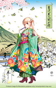 Eriri Spencer Sawamura The Most Beautiful Heroines Saekano Ukiyo-e Woodblock Print (Import)