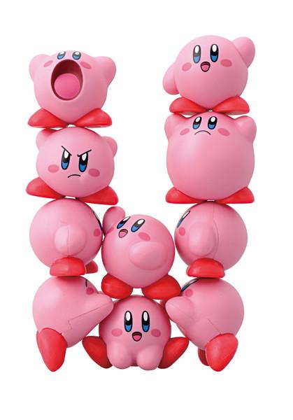 Kirby Nosechara Assortment Ensky Stacking Figure
