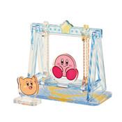 Kirby and Scarfy Swing Moving Diorama Ensky Kirby Acrylic Standee