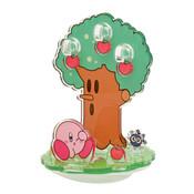 Kirby and Gordo Whispy Woods Moving Diorama Ensky Kirby Acrylic Standee