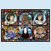 News from a Mysterious Town Spirited Away Ensky Artcrystal Puzzle