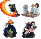 Demon Slayer (Re-run) PETITRAMA Volume 1 Figure Set