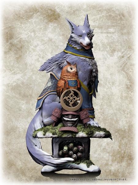 Palamute Monster Hunter Statue Figure