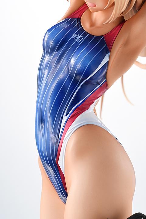 Kouhai-chan of the Swim Team Arms Note Figure