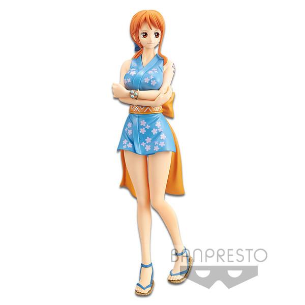 Nami The Grandline Lady Ver One Piece DXF Prize Figure