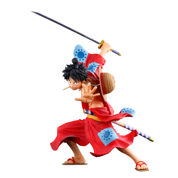 Monkey D Luffy Anime Dimensions Wano Arc Ver One Piece Prize Figure