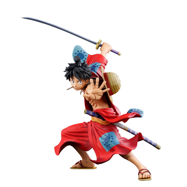 Monkey D Luffy Manga Dimensions Wano Arc Ver One Piece Prize Figure