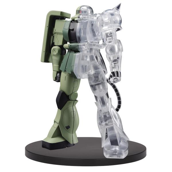 MS-06F Zaku II Internal Structure Ver A Mobile Suit Gundam Figure