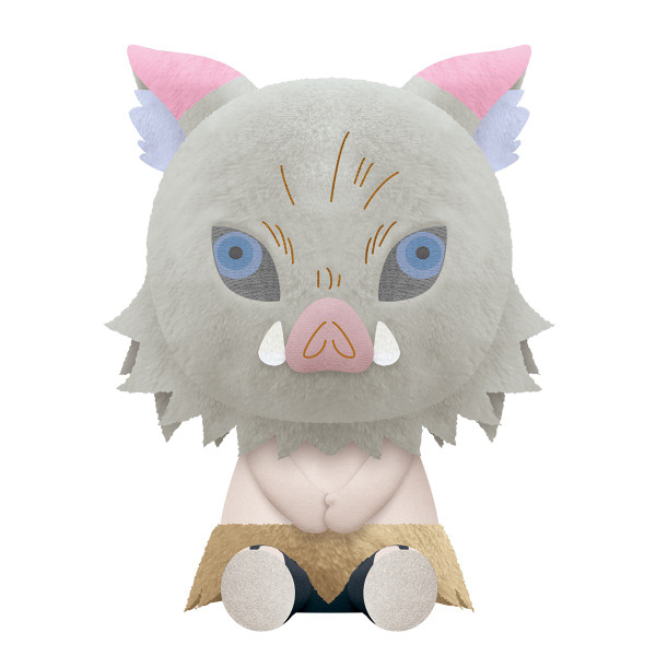 Inosuke Hashibira Demon Slayer Big Sitting Plush
