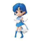 Super Sailor Mercury Pretty Guardian Sailor Moon Eternal Q Posket Prize Figure