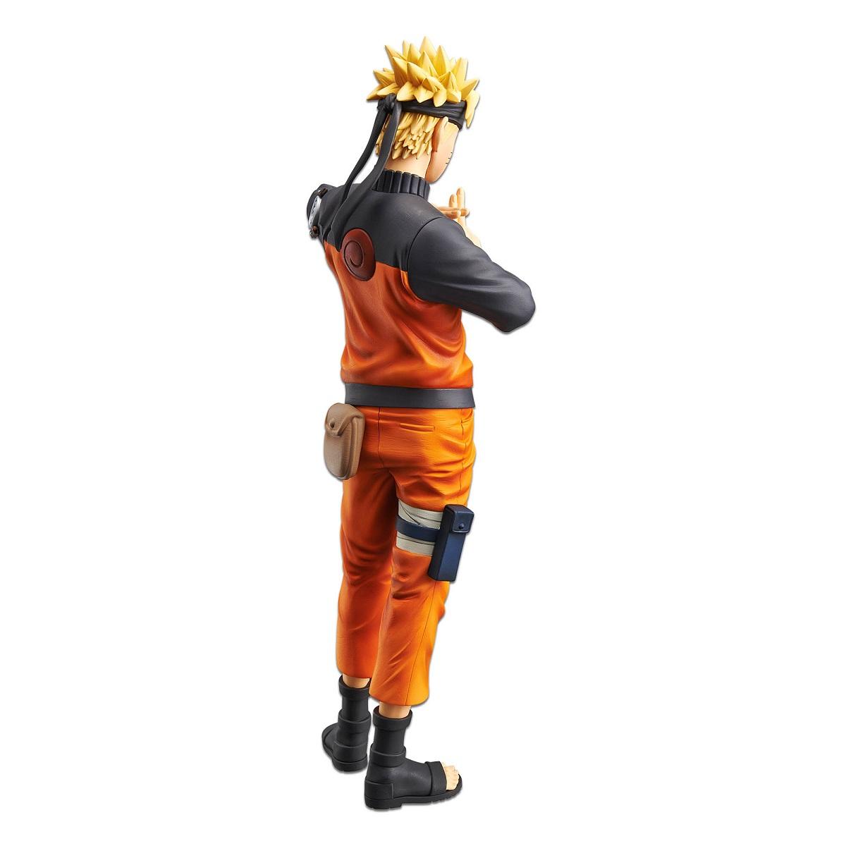 Naruto Uzumaki Naruto Shippuden Grandista Nero Prize Figure