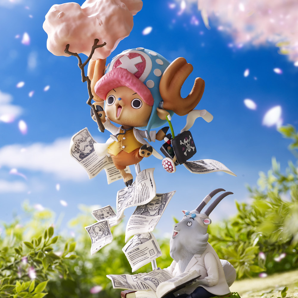 Tony Tony Chopper Challenge From Greeeen One Piece Collaboration Prize Figure