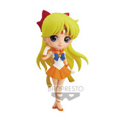 Super Sailor Venus Pretty Guardian Sailor Moon Eternal Q Posket Prize Figure
