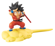 Goku Orange Suit with Flying Nimbus Cloud Dragon Ball Prize Figure