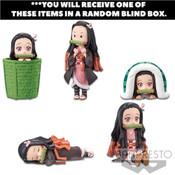Nezuko Kamado Demon Slayer World Collectable Prize Figure Collection 2 Blind Box