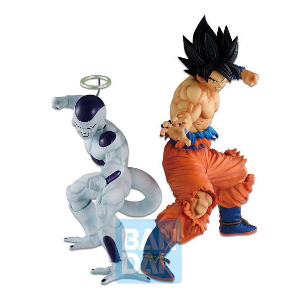 Son Goku and Frieza Dragon Ball Z Ichiban Figure