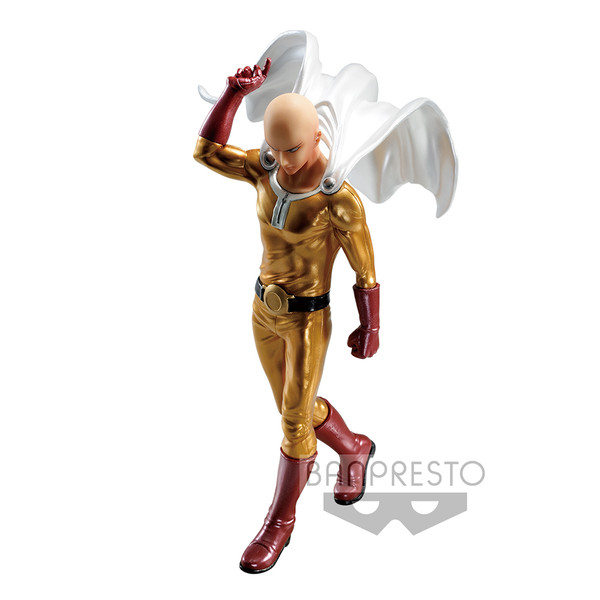 Saitama Metallic Color One-Punch Man DXF Premium Prize Figure