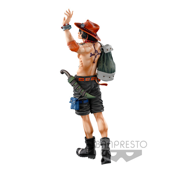 Portgas D. Ace Super Master Stars Piece The Brush Color Ver One Piece Prize Figure