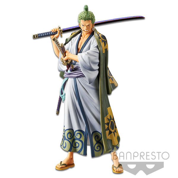 Zoro The Grandline Men Ver One Piece DXF Prize Figure