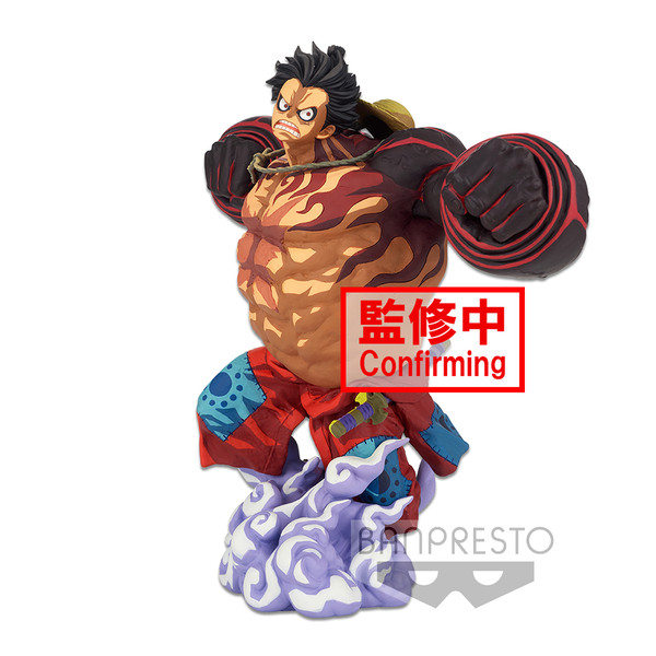Monkey D Luffy Bounceman Super Master Stars Piece Manga Dimensions One Piece Prize Figure