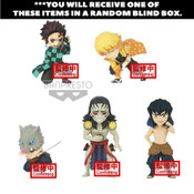 Demon Slayer World Collectable Prize Figure Collection 3 Blind Box