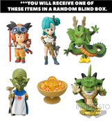 Dragon Ball World Collectable Prize Figure Treasure Rally Collection 2 Blind Box