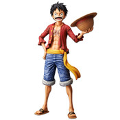 Monkey D Luffy Grandista Nero Ver One Piece Figure