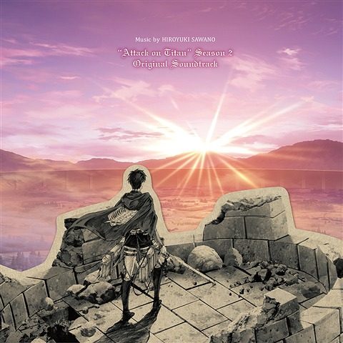 Attack on Titan Season 2 Original Soundtrack CD (Import) 4988013316096