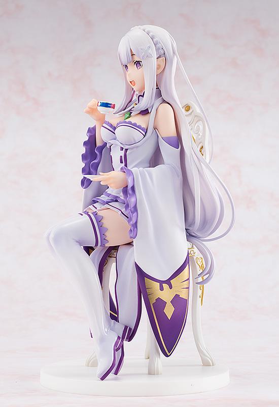 Emilia Tea Party Ver Re:ZERO Figure